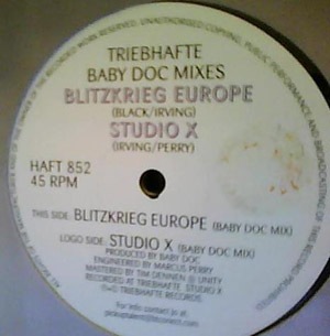 Servant Girl and Emmy Black - Studio X / Blitzkrieg Europe (Baby Doc Mixes)