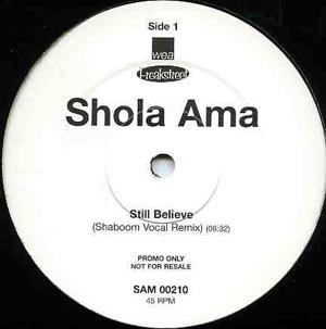 Shola Ama - Still Believe