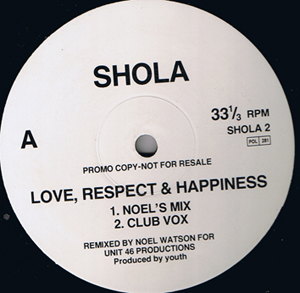 Shola - Love, Respect & Happiness