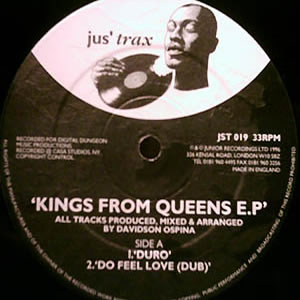 DAVIDSON OSPINA - KINGS FROM QUEENS EP
