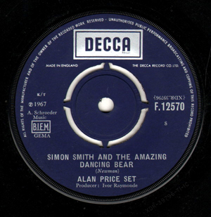 Alan Price Set - Simon Smith And The Amazing Dancing Bear