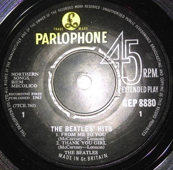 Beatles - The Beatles' Hits