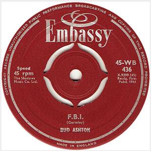 Bud Ashton - F.B.I. / Wheels