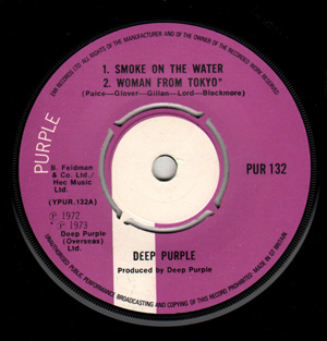 Deep Purple - Smoke On The Water/ Woman From Tokyo/Child In Time