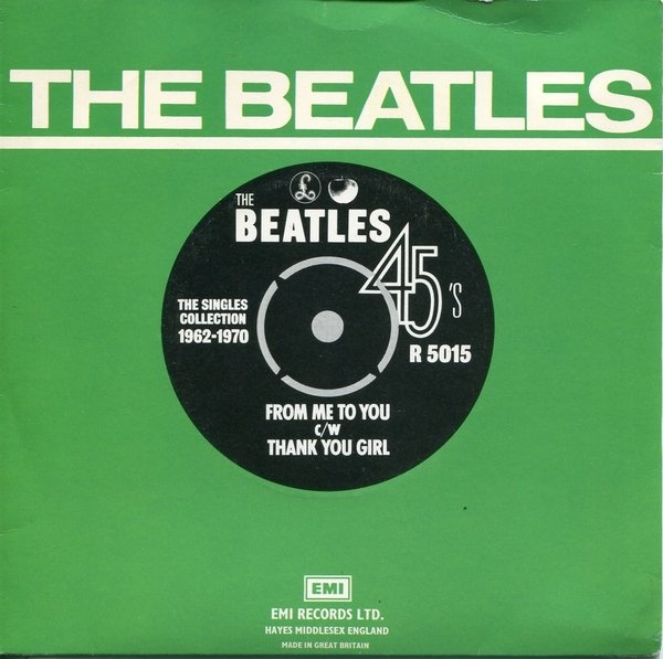 Beatles, The - From Me To You / Thank You Girl