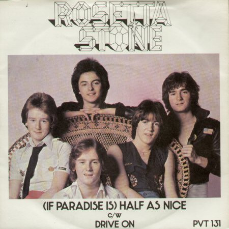 Rosetta Stone? - If Paradise Is Half As Nice