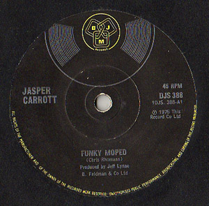 Jasper Carrott - Funky Moped / Magic Roundabout