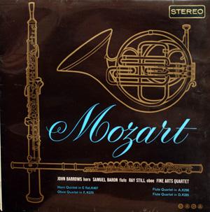 Mozart - Horn Quintet, Oboe Quartet, Flute Quartets