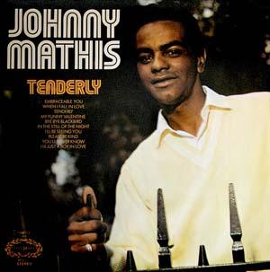 JOHNNY MATHIS - Tenderly - Maxi x 1