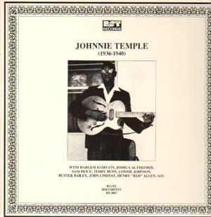 JOHNNIE TEMPLE - (1936-1940) (Pre-War Blues)