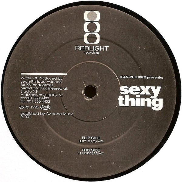 JEAN PHILIPPE - SEXY THING