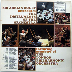 Sir Adrian Boult -  London Philharmonic - Introduces The Instruments Of The Orchestra