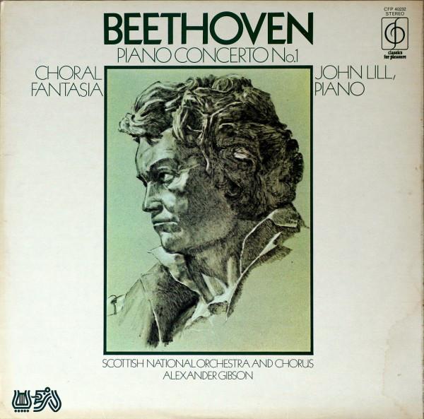 Beethoven, John Lill ? - Piano Concerto No.1, Choral Fantasia