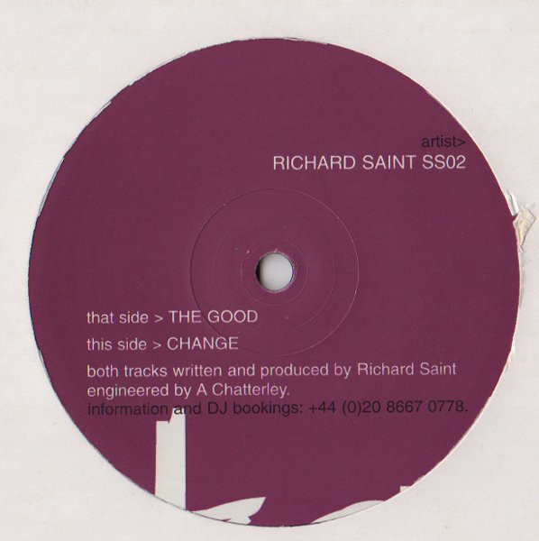 Richard Saint - The Good / Change