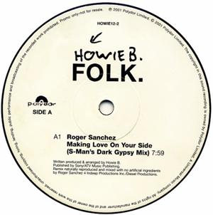 Howie B. - Folk.