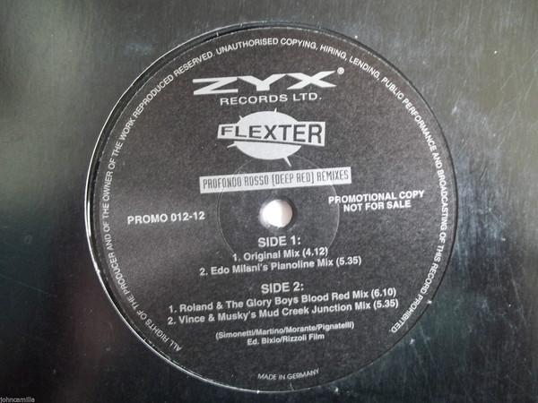 Flexter - Profondo Rosso (Deep Red) (Remixes)