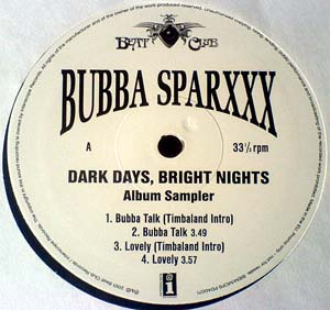 Bubba Sparxxx - Dark Days, Bright Nights (Album Sampler)
