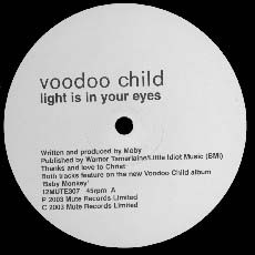 Voodoo Child - Light Is In Your Eyes / Electronics