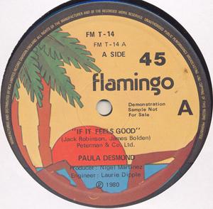 Paula Desmond - If It Feels Good