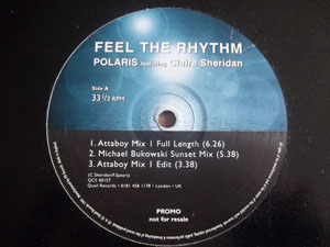 Polaris Feat Claire Sheridan - Feel The Rhythm