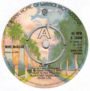 Mike McGear - Leave It