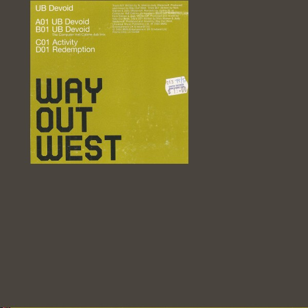 Way Out West - UB Devoid
