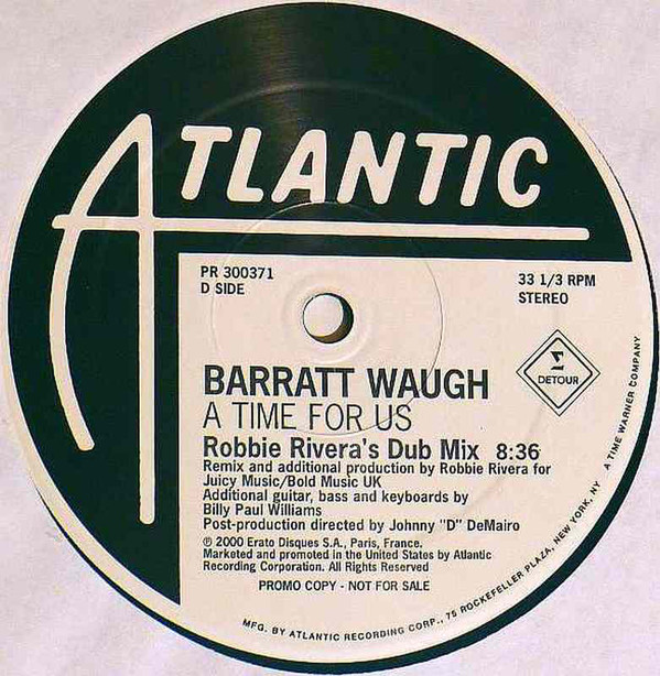 Barratt Waugh - A Time For Us