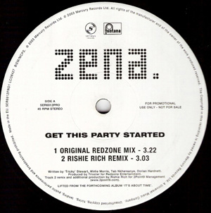 Zena - Get This Party Started