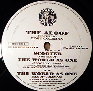 Aloof, The Featuring Zoey Coleman - The World As One