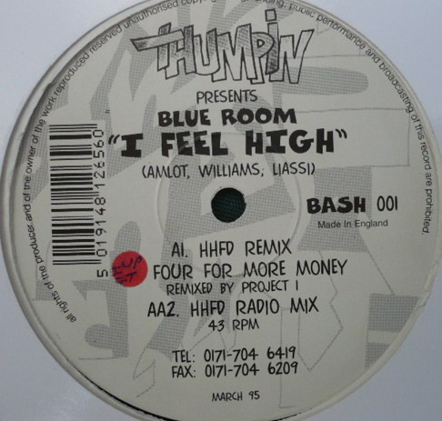 BLUE ROOM - I FEEL HIGH