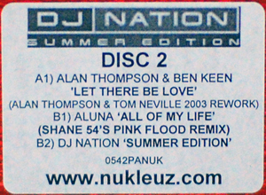 Various - DJ Nation Summer Edition Disc 2