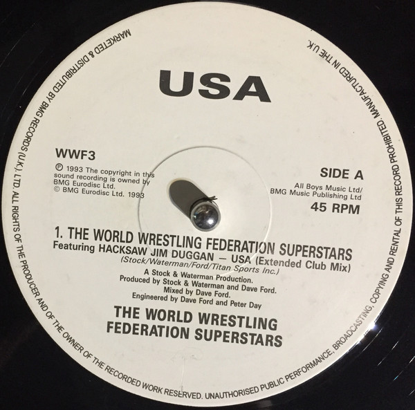 World Wrestling Federation Superstars, The - USA