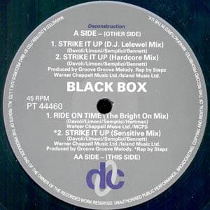 Black Box - Strike It Up (Remixed)