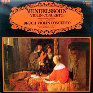 Mendelssohn / Bruch / Laredo - Violin Concerto