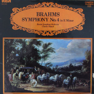 Brahms, Boston Symphony Orchestra - Symphony No. 4 In E Minor