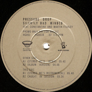 Pressure Drop Feat. Constantine Weir - Silently Bad Minded