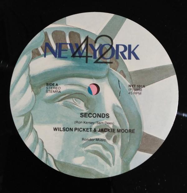Wilson Pickett & Jackie Moore - Seconds