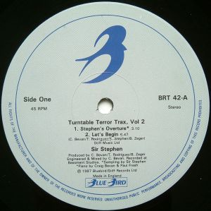 Sir Stephen - Turntable Terror Trax, Vol. 2