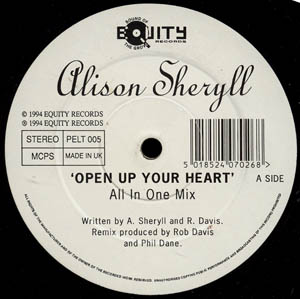 Alison Sheryll - Open Up Your Heart