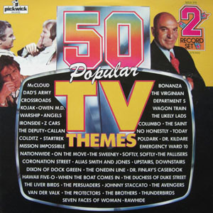 Bruce Baxter Orchestra - 50 Popular TV Themes