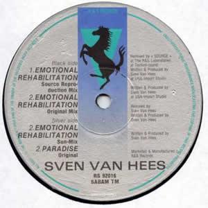 SVEN VAN HEES - EMOTIONAL REHABILITATION (REMIXES)