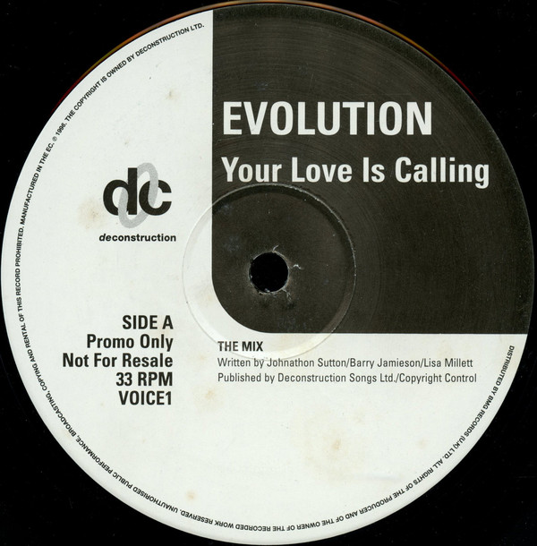 EVOLUTION - YOUR LOVE IS CALLING (PROMO)