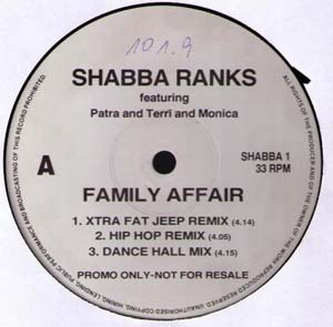 Shabba Ranks - Family Affair