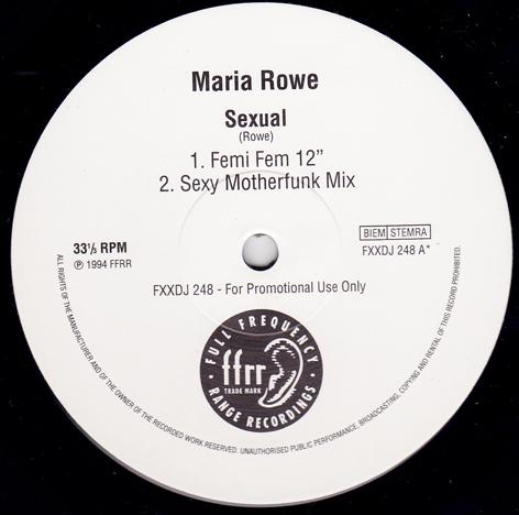 Maria Rowe - Sexual