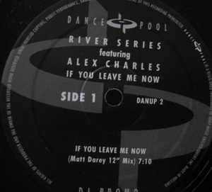Riverseries Featuring Alex Charles - If You Leave Me Now