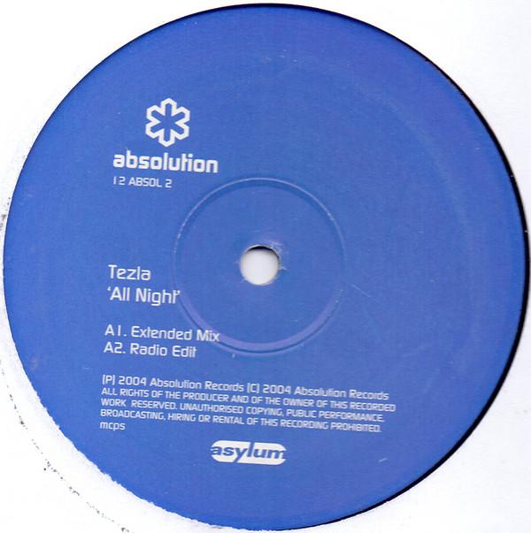 Tezla - All Night