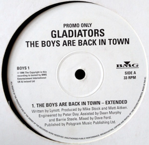 Gladiators - The Boys Are Back In Town