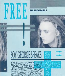 Boy George - Boy George Speaks!