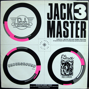 Various - Jackmaster 3 - Test Pressing