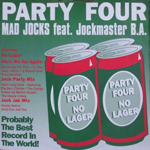 Mad Jocks Feat. Jockmaster B.A. - Party Four